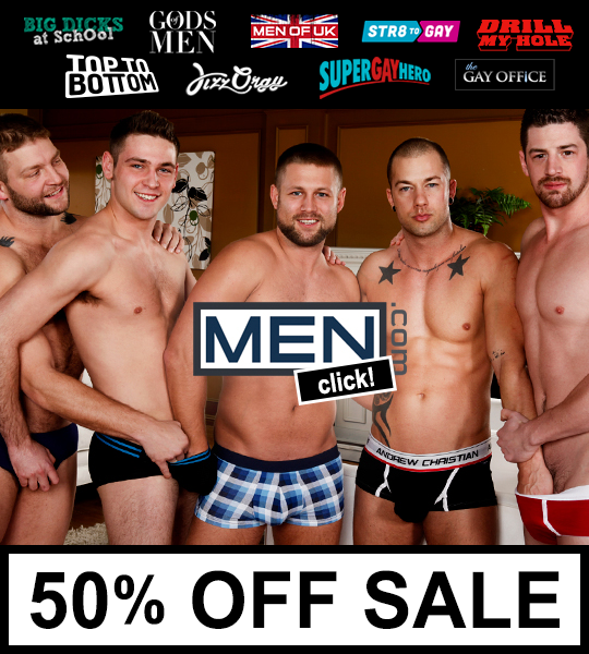 Men.com Network 50% Off Sale
